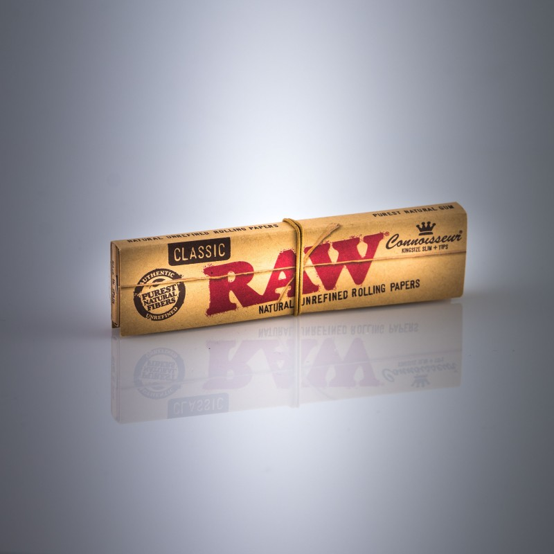 Feuilles Raw Classic et Tips